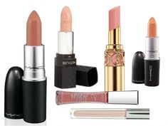Nude lipsticks for skin tones