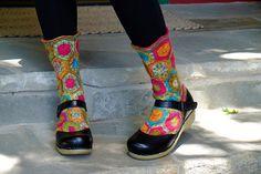 Ravelry: AmyA's Vexy Hexy Goldilocks Socks