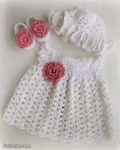 Free Crochet Baby Dress Patterns ~ Find Out New aspirations About Fresh 40 Pictures Free Crochet Baby Dress Patterns with Regard to Particular Baby Dress Pattern Crochet Patterns Patterns Baby Newborn with Free Crochet Baby Dress Patterns Crochet Baby Dress Pattern, Baby Dress Patterns, Baby Girl Crochet, Crochet Baby Clothes, Crochet For Kids, Knit Crochet, Crochet Patterns, Newborn Crochet, Crochet Dresses