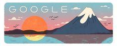 Google Doodle Celebrates Mountain Day, Japan's Newest Holiday