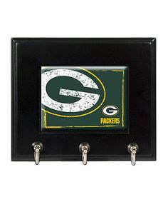 Another great find on #zulily! Green Bay Packers Key Hook Rack by Great American Products #zulilyfinds