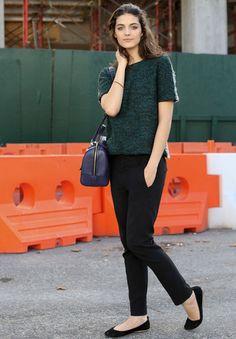 model at NYFW
