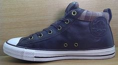 Kode Sepatu Converse CT Leather Mid Darkbrown  0cb71c4854