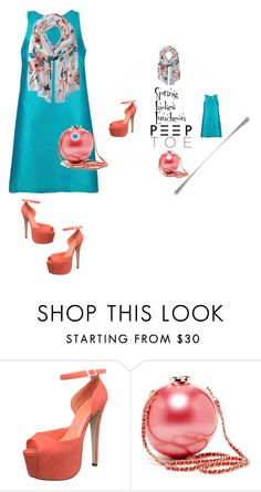 """""""peep toes"""" by im-karla-with-a-k ❤ liked on Polyvore featuring Ivanka Trump"""
