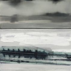 """""""Settled,"""" original abstract painting by artist Michelle Wickland-Sims (UK) available at Saatchi Art #SaatchiArt"""
