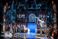 Hunchback of Notre Dame. La Jolla Playhouse, Paper Mill Playhouse. Scenic design by Alexander Dodge.
