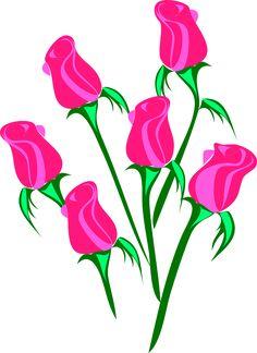 Resultado de imagem para flores png rosa