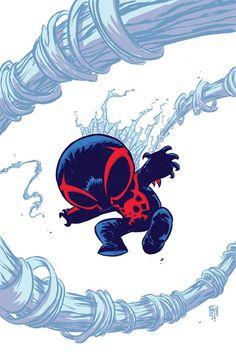 Primeras imagenes del regreso de Spiderman 2099 5