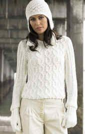 Free Knitting Pattern - Women's Sweaters: Millie Sweater