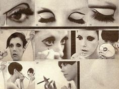 Retro 60's Eyes:  Edie Sedgewick/Peggy Moffitt