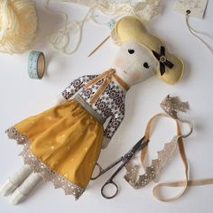 A doll for little Milly Winter Hats, Crafty, Dolls, Instagram Posts, Sunshine, Illustrations, Puppet, Doll, Illustration