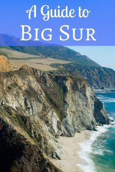 Big Sur is one of the most beautiful places in California. Here's a guide to Big Sur for your next road trip! Usa Travel Guide, Travel Usa, Travel Guides, Travel Tips, Travel Articles, Travel Advice, Kyoto, Quotes John Green, Beautiful Places In California