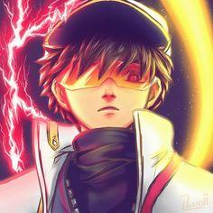 Boboiboy Anime, Hot Anime Boy, Cute Anime Guys, Anime Art, Galaxy Movie, Boboiboy Galaxy, Solar Logo, Elemental Powers, Cartoon Memes