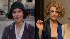 Katherint Waterston as Tina and Alison Sudol as Queenie in Fantastic Beasts and Where to Find Them