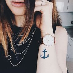 """Have an anchor so that life doesn't toss you around"""" - pic by @irenepila_"""