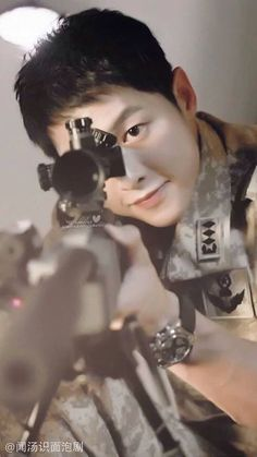 Image discovered by Mónica Ramirez. Find images and videos about dots, song joong ki and descendants of the sun on We Heart It - the app to get lost in what you love. Park Hae Jin, Park Seo Joon, Song Hye Kyo, Asian Actors, Korean Actors, Korean Dramas, Soon Joong Ki, Decendants Of The Sun, Les Descendants