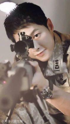 Capt.Yoo Si Jin Descendants Of the Sun Ep9