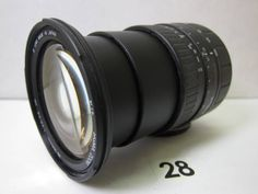 LS537AB シグマ SIGMA ZOOM 28-200mm D F3.8-5.6 UC ジャンク_SIGMA ZOOM 28-200mm D F3.8-5.6 UC