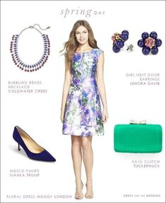 Amazing Spring Wedding Guest Outfit Idea Guests Pinterest Summer And Fashion