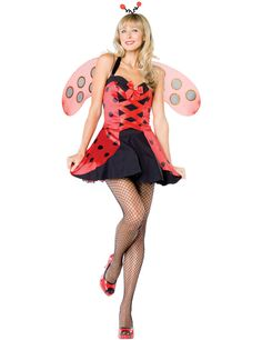 Lovely Ladybug Costume £59.99 : Direct 2 U Fancy Dress Superstore. http://direct2ufancydress.com/lovely-ladybug-costume-p-8483.html