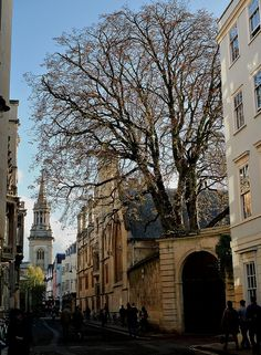 Turl Street, Oxford by Howard Somerville on Flickr