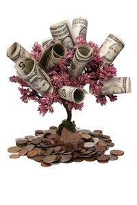 Regalar dinero en forma de árbol dejará boquiabierto a quien lo reciba