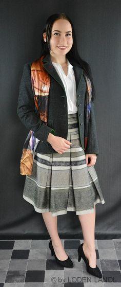 Trachtige Herbst Damen Kombinationen - bei Loden Landl Blazer, Style, Fashion, Fall, Jackets, Swag, Moda, Stylus, Fasion