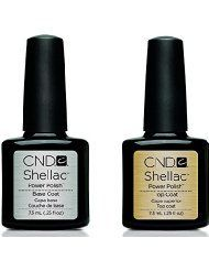 CND Shellac Top & Base Coat Soak Off GEL .25 oz CREATIVE Nail Polish UV Lamp - http://on-line-kaufen.de/cnd/cnd-shellac-top-base-coat-soak-off-gel-25-oz-nail-uv