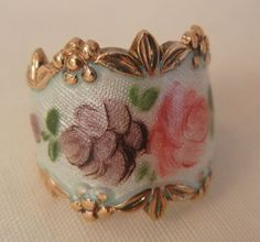 Always something exciting in store August 10 to 60 % Off many items saleOutstanding sterling guilloche flower wide band Ring Size 4 1/2 from vintageshari on Ruby Lane