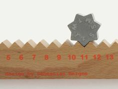 Monthly Measure perpetual calendar design by Sebastian Bergne