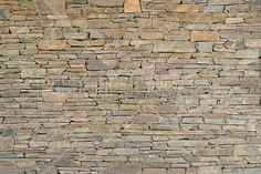 Stacked Stone Wall - Fototapeter & Tapeter - Photowall