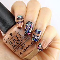 [Nail Art] MoYou London Kaleidoscope 08