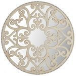 Carved Scroll Wall Decor - Ivory