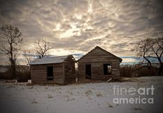 Abandoned History by Desiree Paquette. Available online at Fine Art America. #AmericanHistory #history #HistoricBuilding