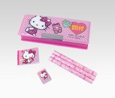Hello Kitty Pencil Set: Black Heart  #SephoraHelloKitty
