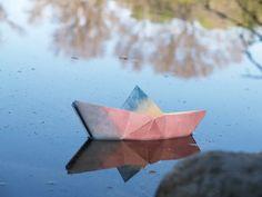 comment faire un bateau en papier origami facile débutant