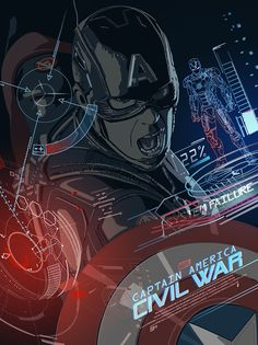 "This is our unofficial tribute to Marvel's ""Captain America: Civil War"""