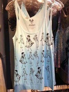 "Downtown Disney Merchandise Update: Disney Princesses, ""Tiki""-wear and Park Signs!   DisneyLifestylers Disney Princess tank top"