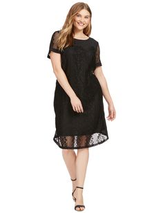 Lace Shift Dress by