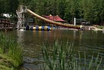 The ACE Adventure Park and Lake is part water park, part climbing gym, and all kinds of awesome.