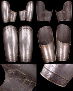 OTTOMAN / TURKISH BAZU BAND Armor, 18/19TH CENTURY, 10.34 in long.