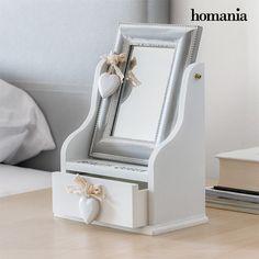 Portagioie in Legno con Specchio e Cassetto Queen Homania Homania 11,37 € https://shoppaclic.com/portagioielli-e-vasi-in-ceramica/28419-portagioie-in-legno-con-specchio-e-cassetto-queen-homania-7569000782413.html