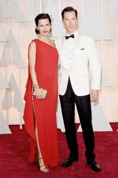 Sophie Hunter de Lanvin com Benedict Cumberbatch