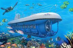 underwater adventures undersea restaurant | 10 amazing underwater adventures - Yahoo! Travel