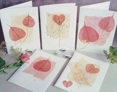 Card making tutorial - skeleton leaves - Handmade Cards 2012 -2013 | Handmade Cards 2012 -2013