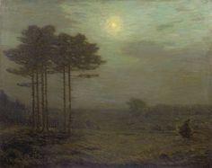 """The Night,"" Charles Warren Eaton, 1911, oil on canvas, 36 1/8 x 45"", Spanierman Gallery."