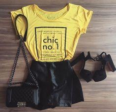 Short saia assimétrico - Closet.mix