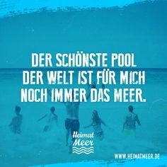 Der schönste Pool der Welt: Das Meer. >>