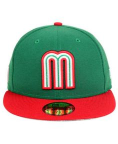 New Era Mexico World Baseball Classic 59FIFTY Fitted Cap 63ba18aebfa7d
