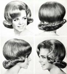 Her Hair in the sixties.